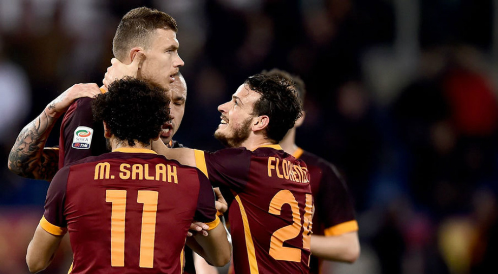 edin dzeko - as roma